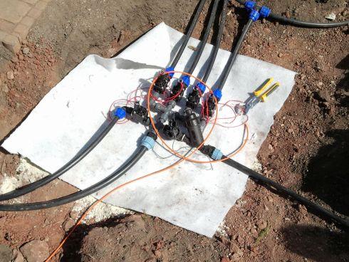 Automata öntözőrendszerek telepítése
